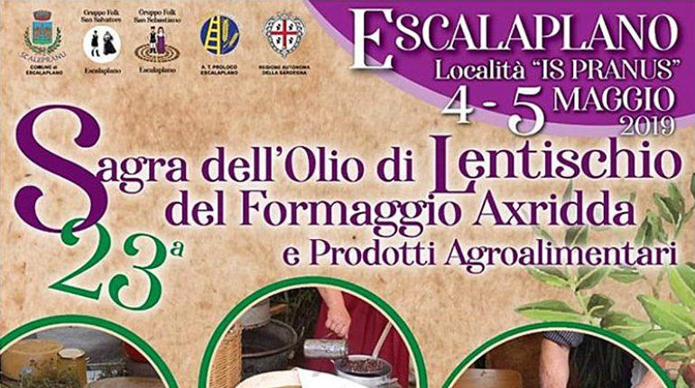 XXIII Sagra dell'olio di Lentisco, del formaggio Axridda e dei prodotti agroalimentari